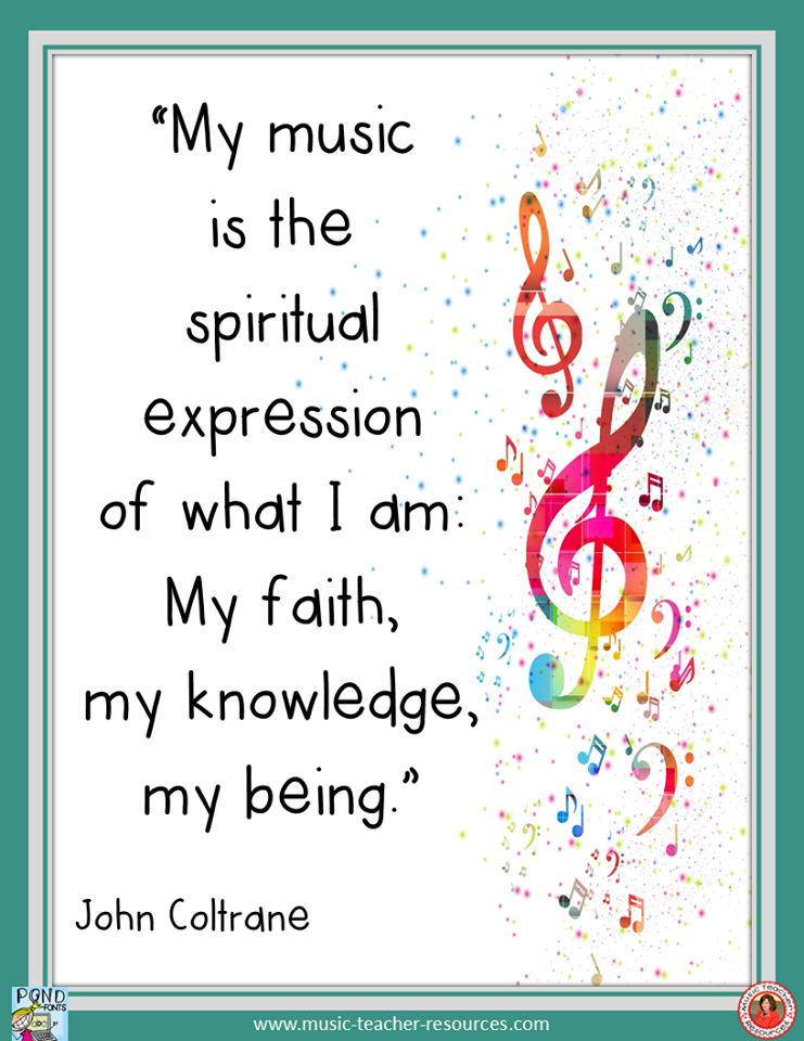 music is spiritual expression