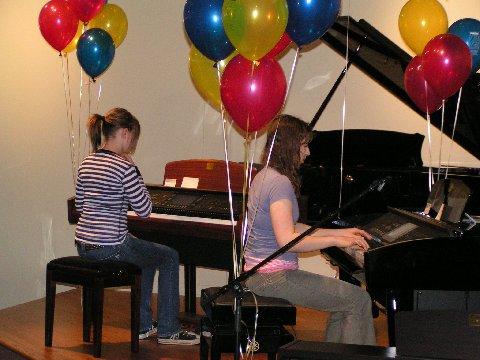 Clav Fest 06 Kiera Behlow & Tess Lennon-Dorn